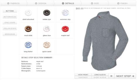 Custom Shirt Builders - Shirts My Way Lets You Create Your Own Tops from Scratch