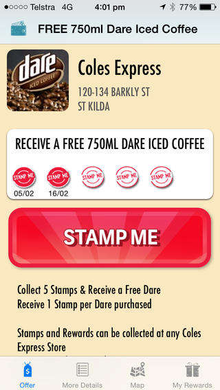 Consolidated Loyalty Apps - Stamp Me's Loyalty Reward App Replaces Multiple Paper Stamp Cards