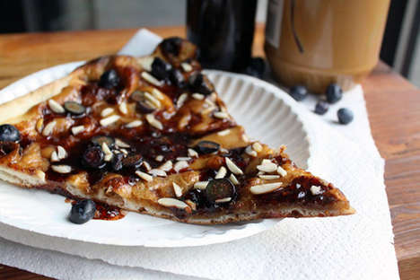 Nutty Jam Pizzas