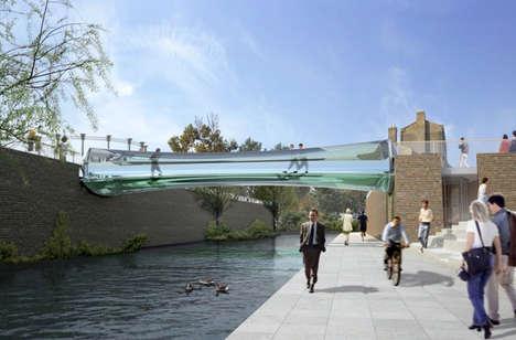 All-Glass Bridges