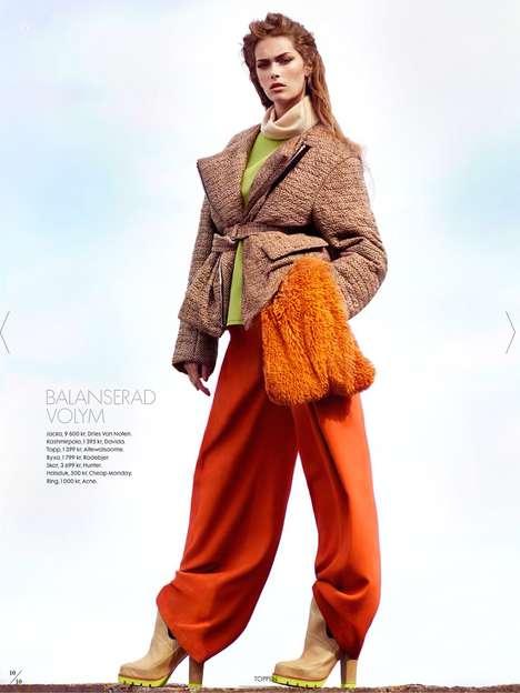 Vibrant Autumn Editorials