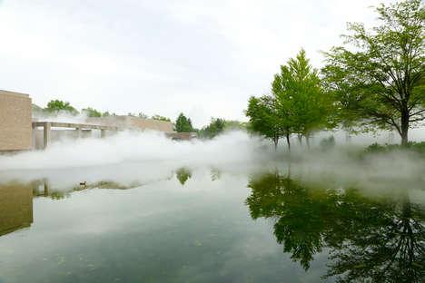 Foggy Museum Installations
