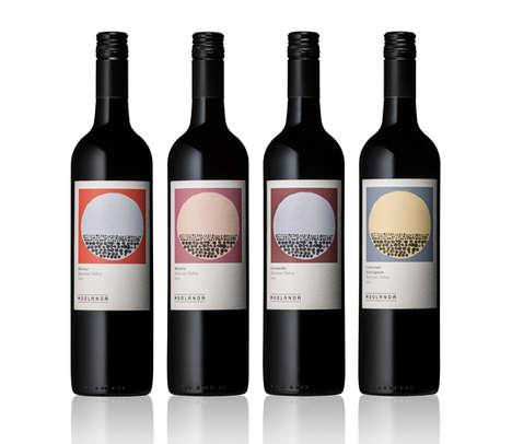 Earthy Wine Branding