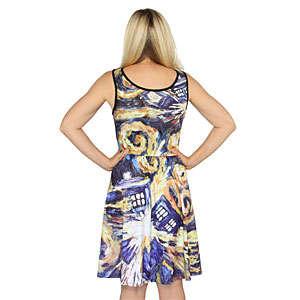 Painterly Intergalactic Dresses