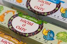 Fairytale Cheese Packaging - Cheese Fables' Cheese Packaging Design is Inspired by a Classic Story