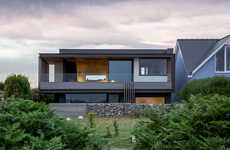 Welsh Seaside Residences - This Welsh Home Makes the Most of Coastal Views