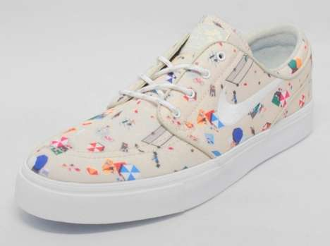 Seaside Skater Sneakers