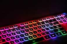 Illuminating Rainbow Keyboards