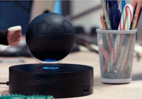 Levitating Speaker Systems - The OM/ONE Bluetooth Speaker Comes in an Innovative Spherical Design