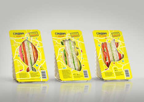 Revealing Sandwich Packaging