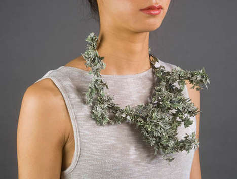 Intricate Currency Jewelry