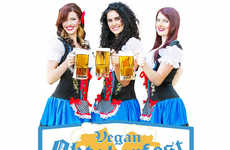 Vegan Beer Festivals - This Year Will Mark the First Ever Vegan Oktoberfest in LA
