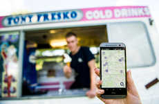 Ice Cream Tracker Apps - O2 Turns an Ice Cream Truck Business Hi-Tech with a Mobile App & More