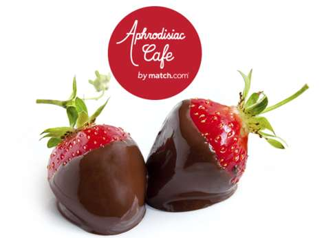 Romance-Inducing Cafes - Match.com's Dating Event for Singles Has an Aphrodisiac-Inspired Menu