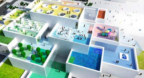 Lifelike LEGO Houses