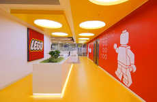 Toy-Based Headquarters - The LEGO Turkey HQ is Fit for a Child
