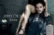 Fantasy Heartthrob Fragrances - The Newest Jimmy Choo Man Scent Campaign Stars Kit Harrington