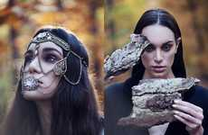 Woodland Nomad Editorials - Glassbook Magazine's Wald Exclusive is Witchy and Eccentric