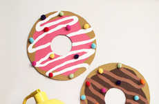 Delectable Bulletin Boards - This DIY Donut Board is Perfect for Homeowners Who Like to Snack