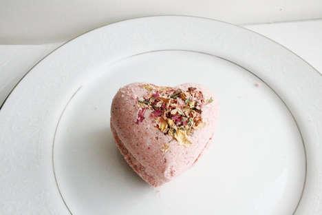 Heart-Shaped Bath Accessories
