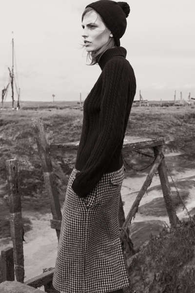 Rustic Countryside Fashion Campaigns
