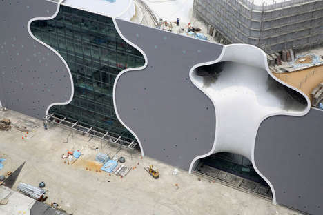Curved Facade Architecture