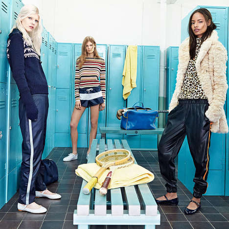 Collegiate Locker Lookbooks