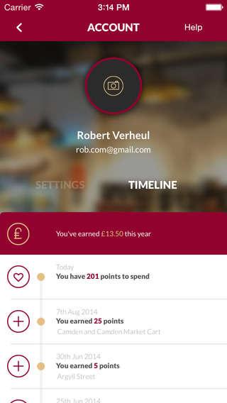 Timeline Reward Apps