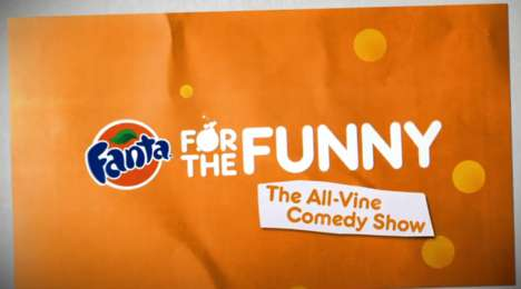 Crowdsourced Comedy Shows - Fanta and College Humor Stitch Together Funny Vine Videos