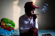 Boy Smoker Photographs - Marlboro Boys by Michelle Siu Documents Underage Smokers in Indonesia