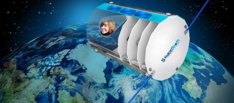 Satellite Space Selfies
