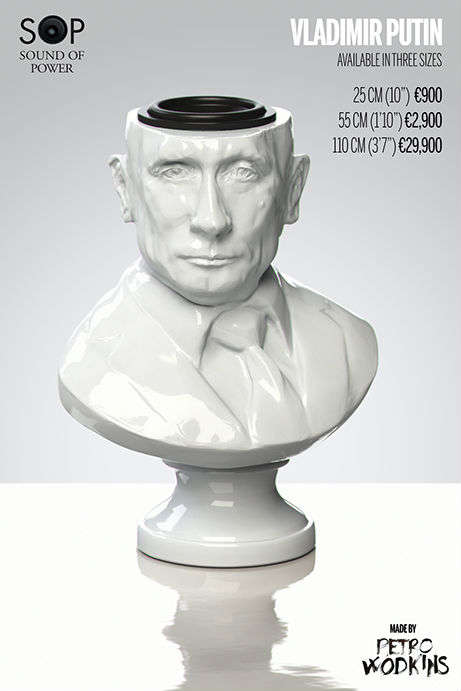 Porcelain Dictator Speakers - Fight the Power with the Sound of Power Speakers