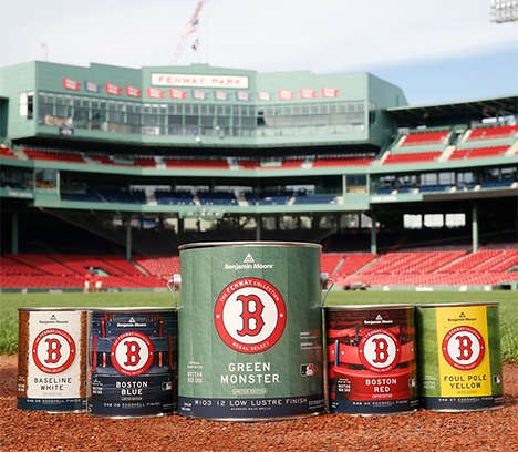 Baseball Stadium Paint Collections - Bring Fenway Park to You with the Fenway Collection
