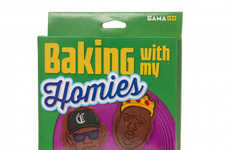 Gangster Cookie Cutters - These Baking Cookie Cutter Designs are Shaped Like Famous Rappers