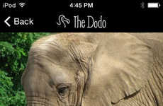 Animal News Apps - The Dodo's App Shares Stories About Animal Welfare from Around the World