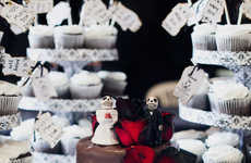 Romantic Macabre Weddings - This Addams Family Wedding Shows a Serious Love of Dark Glamour