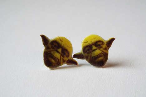 Miniature Jedi Master Jewelry