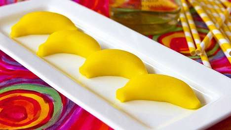 Boozy Banana Shots - These Festive Banana-Flavored Shots are Made from Gelatin