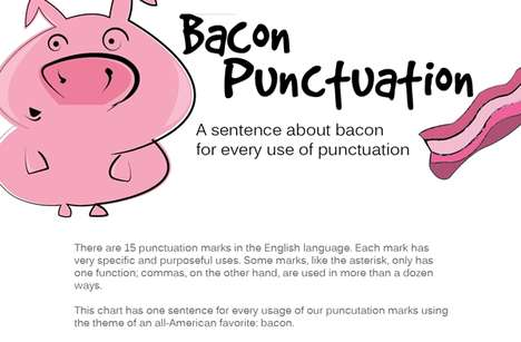 Porky Punctuation Infographics