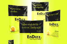 Hangover-Avoiding Packets - EnDizz' Packets Help to Prevent a Hangover Naturally Before Drinking