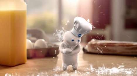 Doughy Ice Challenges - Pillsbury's Ice Bucket Challenge Video Stars a Brave Poppin' Fresh