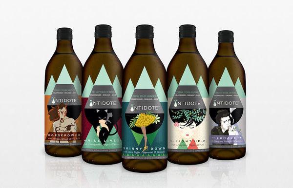 15 Artistic Juice Branding Examples