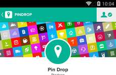 Personalized Map Apps - Pin Drop's App Lets You Create Custom, Meaningful Maps with Friends
