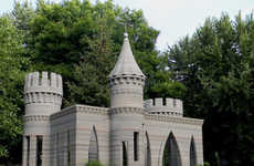 3D-Printed Castles - This Concrete Castle Design is Made Entirely From 3D-Printed Blocks
