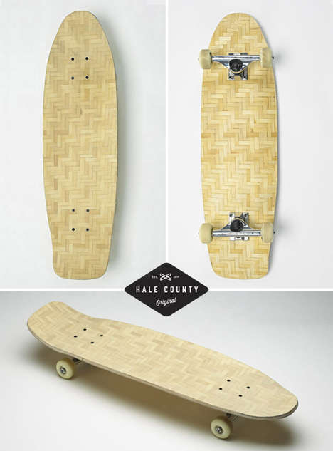Durable Bamboo Skateboards