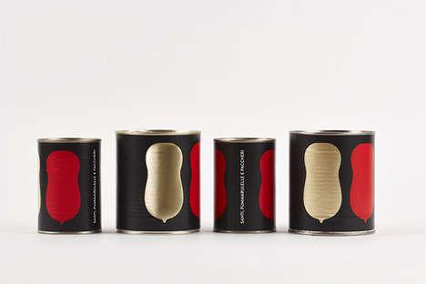 Minimalist Tomato Packaging