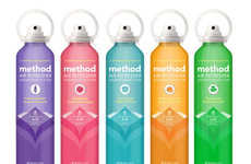 Eco Air Cleaners - The Method Air Freshener Bottles Introduces a Cleaner Way to Spray