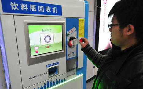 Bottle Deposit Train Tickets - Plastic Recycling Could Get You a Free Transit Pass in Beijing
