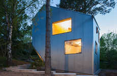 Irregular Cubic Homes - This Prefabricated House is Low on Cost and High on Space