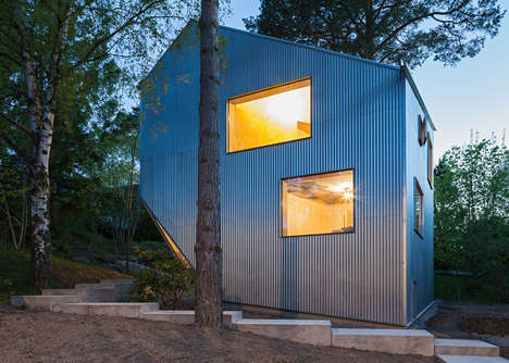 This Prefabricated House is Low on Cost and High on Space
